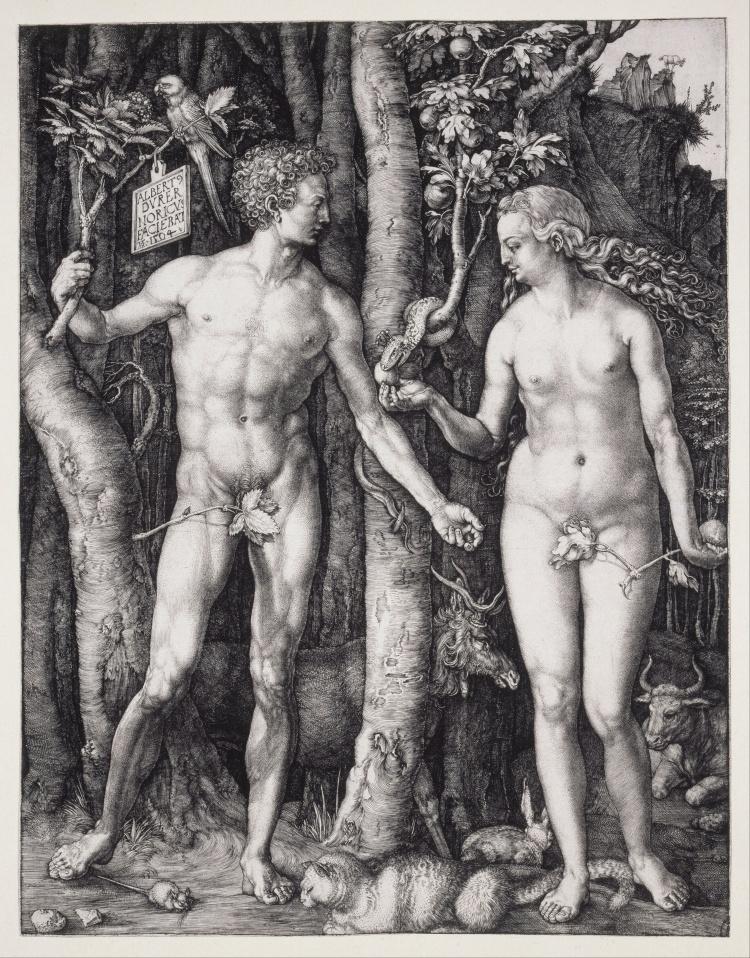 Albrecht_Dürer_-_The_Fall_of_Man_(Adam_and_Eve)_-_Google_Art_Project