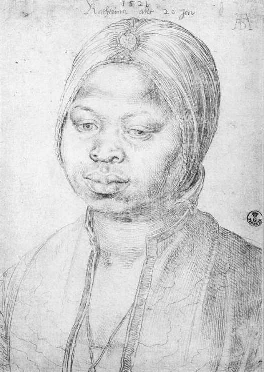 Albrecht_Dürer_-_The_Negress_Katherina_-_WGA07097
