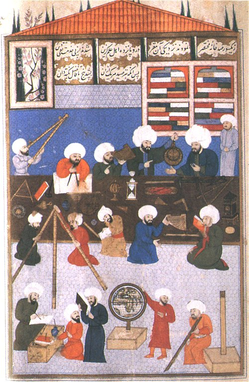 Medieval Moslem Astronomers (Photo courtesy of University of North Florida)