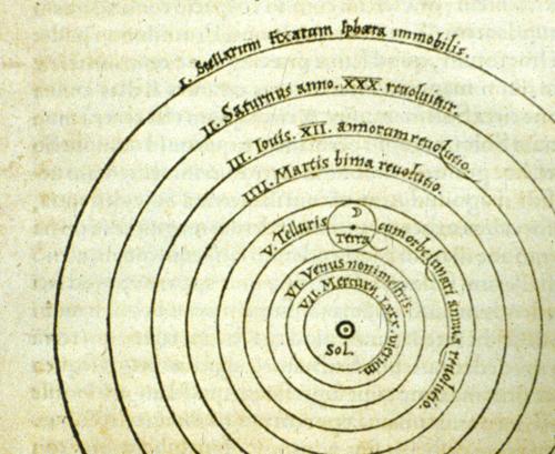 Nicholas Copernicus, De revolutionibus (Norimbergae, 1543)