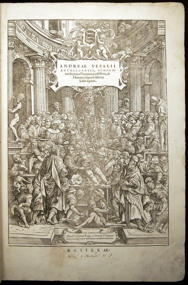 Andreae Vesalius, De Humani corporis fabrica (Basel, 1543)