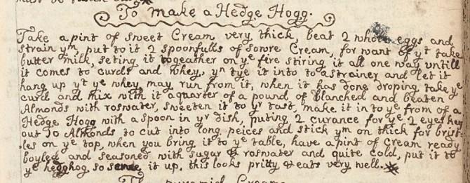 HedgeHogRecipe