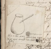 L0034633 Page of recipes from Lady Fanshawe's book i